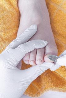 Soins des pieds - Infirmière - Caroline Turgeon